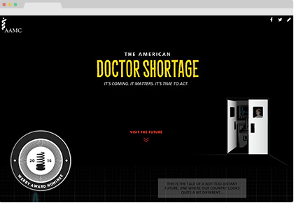 AAMC American Doctor Shortage Microsite