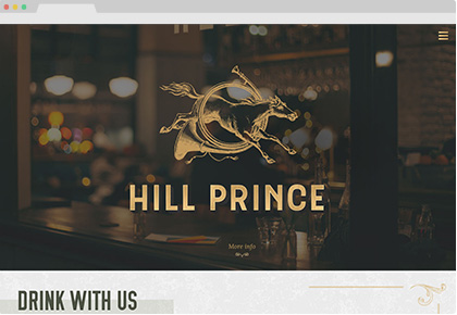 Hill Prince Website